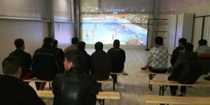 Handball geschaut